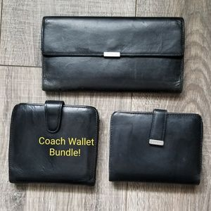 Coach Wallet Bundle!  Three Wallets One Low Price!